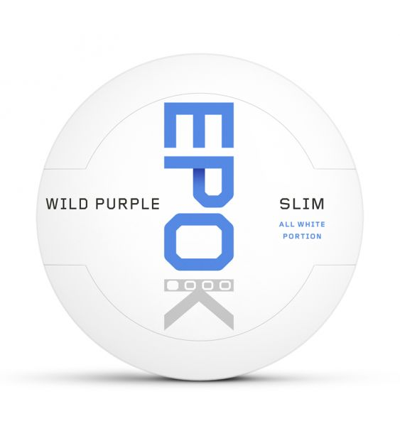 Kautabak EPOK Wild Purple Einsteiger All White Slim 14g