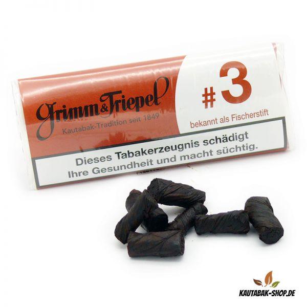 """Kautabaksticks Grimm & Triepel #3 """"Fischerstift"""" 14g"""