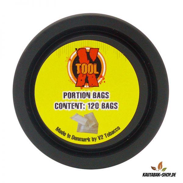 Kautabak Portionsbeutel X-Tool 120 Stück
