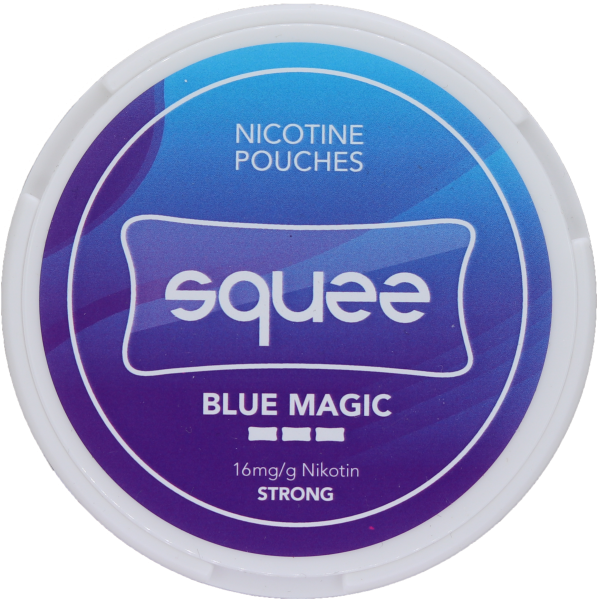 Nicotine Pouches Squee Blue Magic 8g