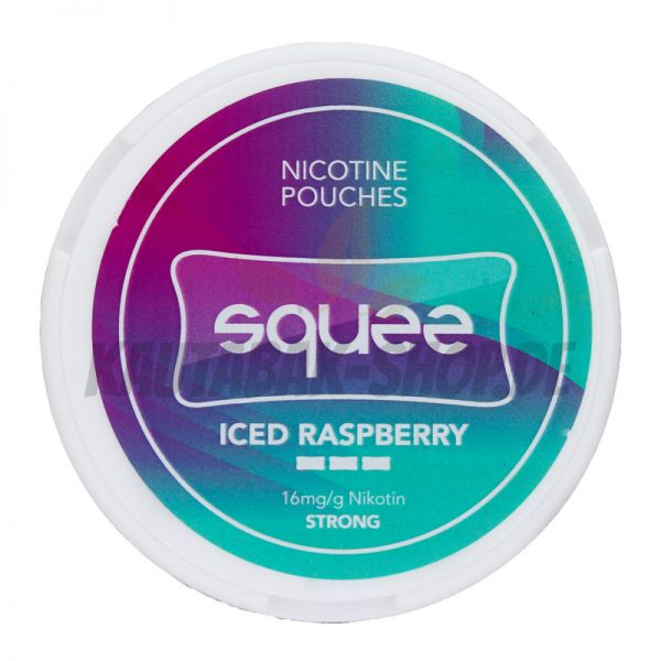 Nicotine Pouches Squee Iced Raspberry 8g