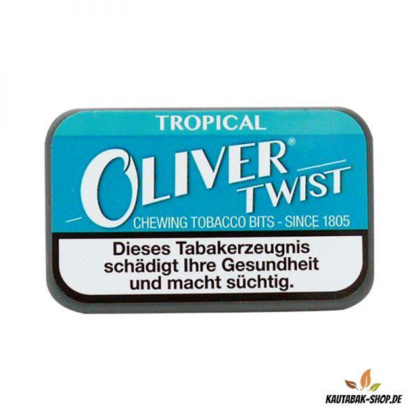 Kautabaksticks Oliver Twist Tropical 7g