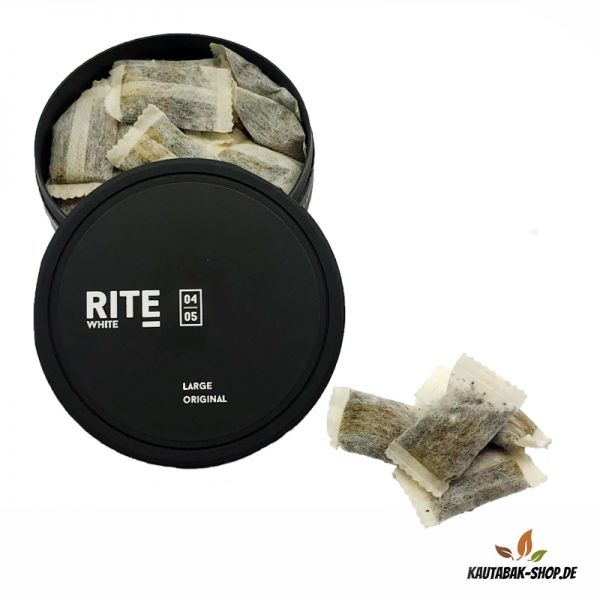 Kautabak RITE Original White Large 15g
