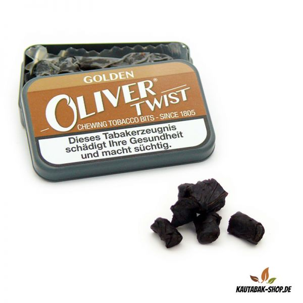 Kautabaksticks Oliver Twist Golden 7g