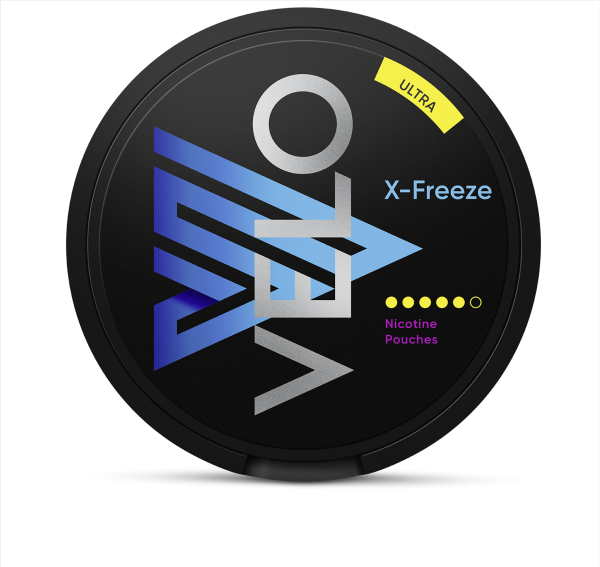 Nicotine Pouches VELO X-Freeze Ultra 18g