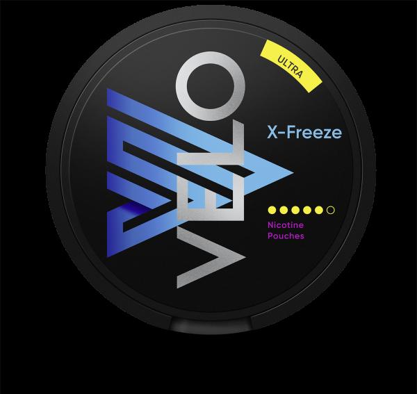*GESPERRT* Nicotine Pouches VELO X-Freeze Ultra 18g
