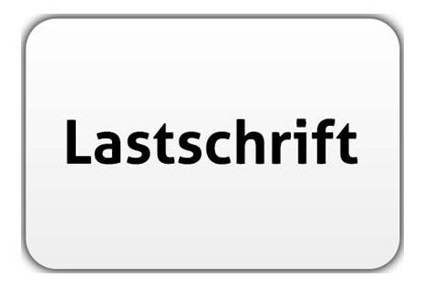 Icon Lastschrift