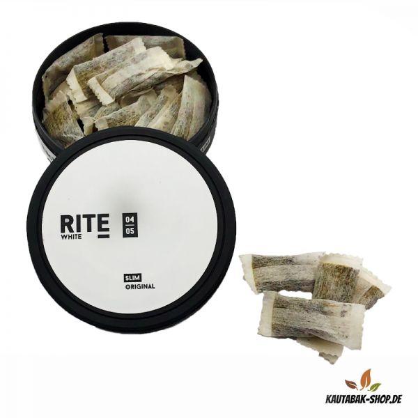 Kautabak RITE Original White Slim 13,2g