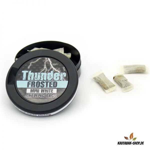Kautabak Thunder Frosted Mini White 6g