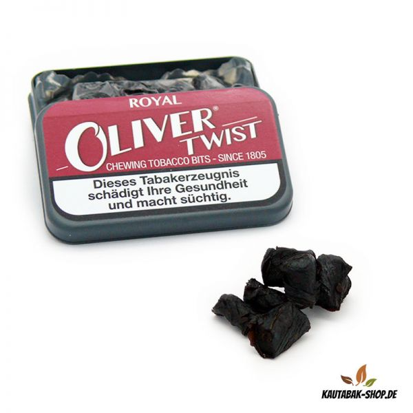 Kautabaksticks Oliver Twist Royal 7g