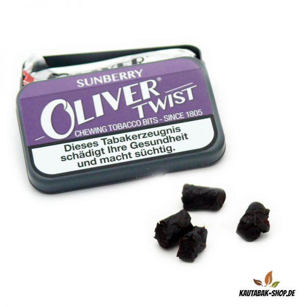 Kautabaksticks Oliver Twist Sunberry 7g