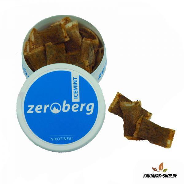 Kautabakersatz Zeroberg Icemint 19,8g