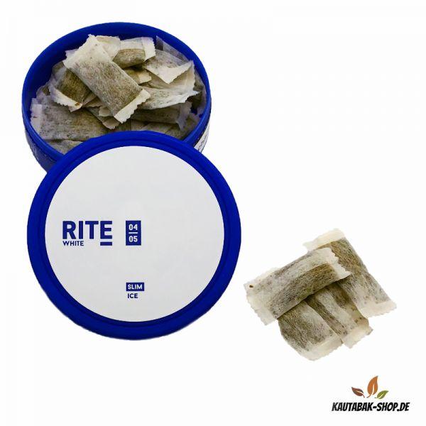 Kautabak RITE Ice White Slim 13,2g