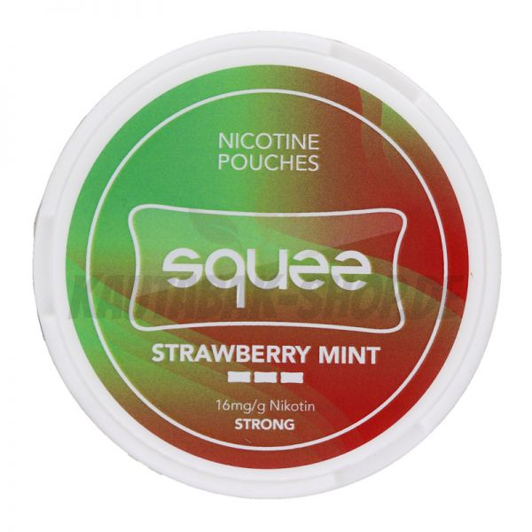 Nicotine Pouches Squee Strawberry Mint 8g