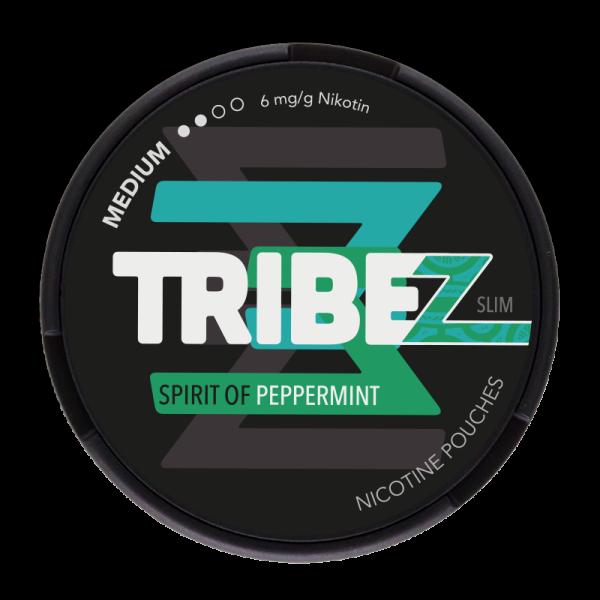Nicotine Pouches TRIBEZ Spirit of Peppermint Slim 8g