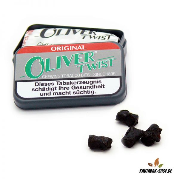 Kautabaksticks Oliver Twist Original 7g