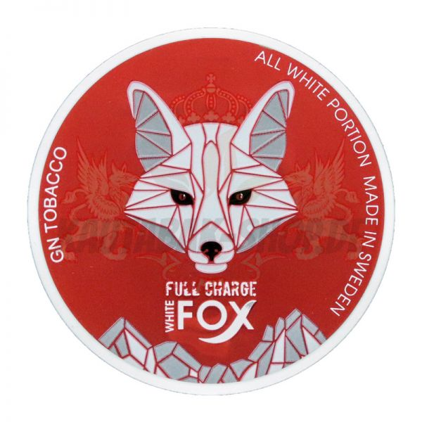 *GESPERRT* Nicotine Pouches White Fox Large Red 15g