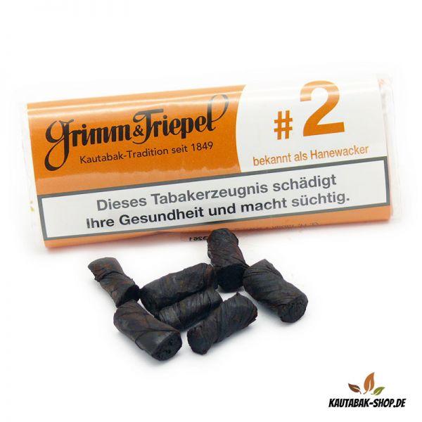 """Kautabaksticks Grimm & Triepel #2 """"Hanewacker"""" 14g"""