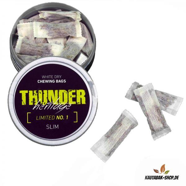 Kautabak Thunder Heritage No.1 Slim White Dry 13,2g